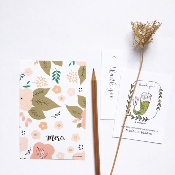 Botanical cards
